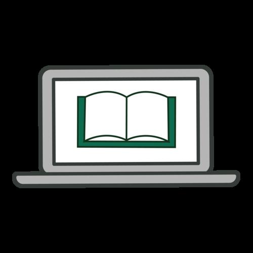 laptop e-book